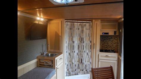 cargo trailer camper conversion youtube