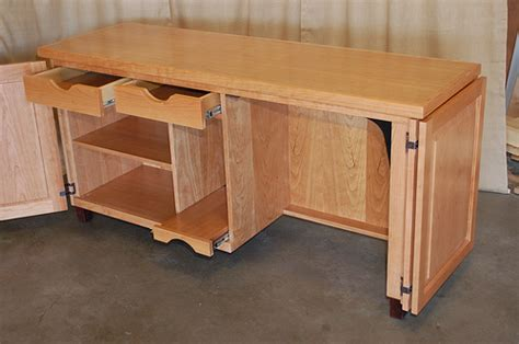 Sewing Desk Plans Free by Useful Woodworking Plans For Sewing Cabinets Rudwo