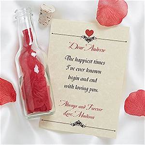 love letter in a bottle romantic personalized gifts With message in a bottle love letter