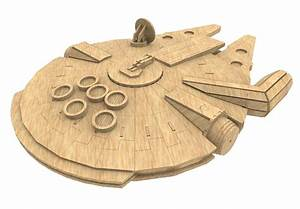 Millennium Falcon - Science Fiction MakeCNC com