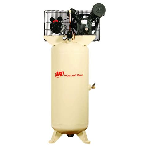 ingersoll rand 2475n7 5 v 80 gallon 7 5 hp two stage air compressor