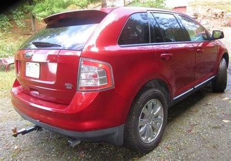 buy   ford edge sel awd  mileage tow package