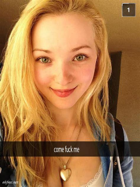American Actress Singer Dove Cameron Nude Snapchat Photos