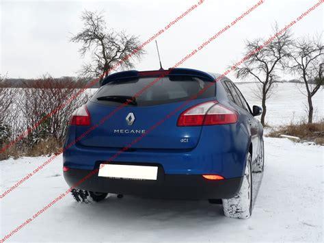 spoiler alettone posteriore renault megane 3 berlina 5 porte ebay