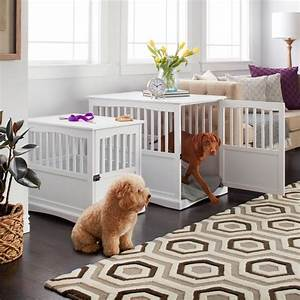 the 25 best wooden dog crate ideas on pinterest wooden With dog crate in bedroom