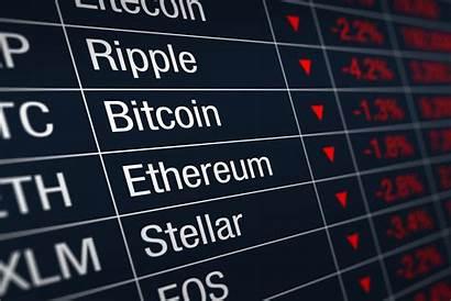 Crypto Stocks Bitcoin Down Market Cryptocurrency Prices