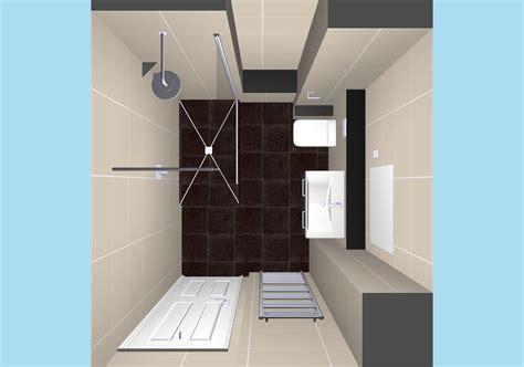 modern shower room installation  curtis bros