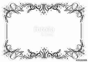Umrandungen Vorlagen Kostenlos : ranke flora blumen bl tter rahmen schwarz stockfotos und lizenzfreie vektoren auf fotolia ~ Orissabook.com Haus und Dekorationen