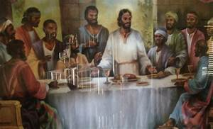 Black Jesus Last Supper Versability - Thought for Your Penny