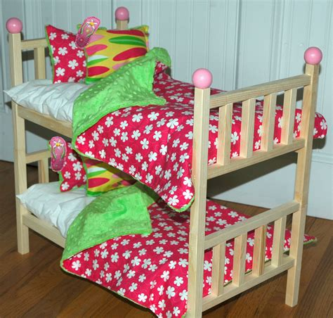 american doll bed american doll bed kanani bunk bed with by girldollbeds
