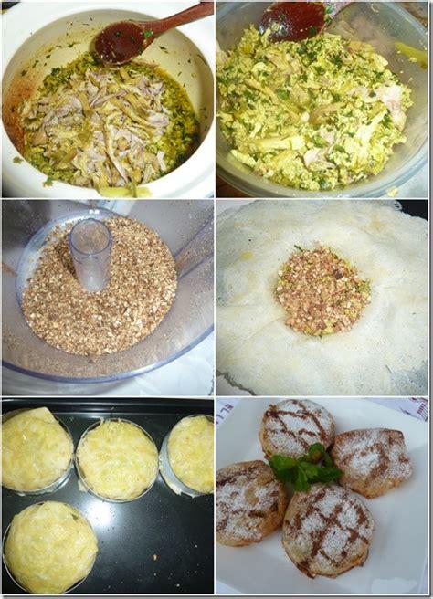 ratiba cuisine pastilla individuelle au poulet et amandes le de