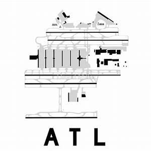 Atlanta Hartsfield Airport Runway Map