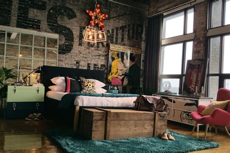 industrial bedroom designs decorating ideas design