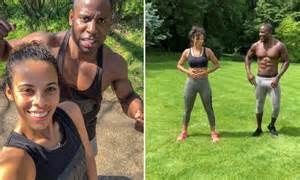 rochelle humes bum fitness pmac trainer abs zumba strong class exercises marvin reveals tone introducing favourite health hellomagazine healthandbeauty