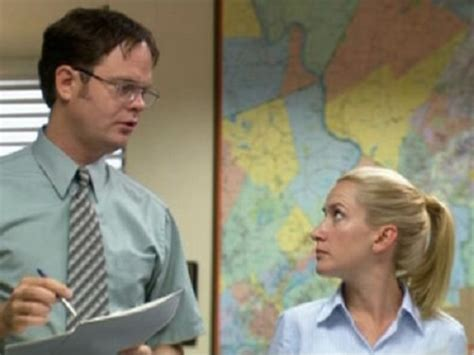 "Angela Kinsey's Husband Made ""south Park""inspired Dwight"