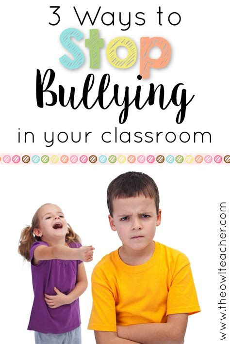 236 Best Bully Prevention Images On Pinterest  2nd Grades, Elementary Schools And Learning