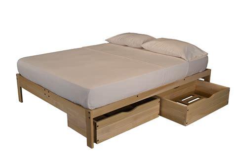 mattress for platform bed unfinished platform bed without headboard the futon