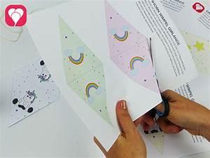 Einhorn Basteln Papier : magische wimpel bei der einhorn girlande balloonasblog ~ Markanthonyermac.com Haus und Dekorationen