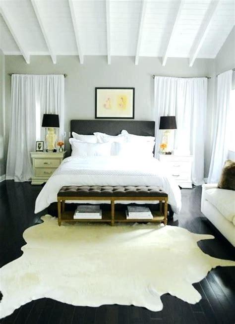 cowhide rug bedroom decor cowhide rug bedroom cream