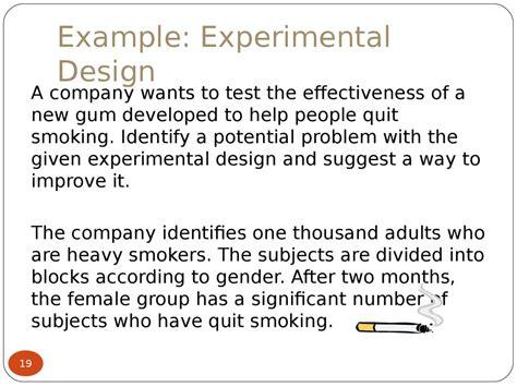 experimental design section  prezentatsiya onlayn