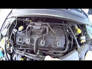 How to replace Valve cover gasket Dodge neon part 2