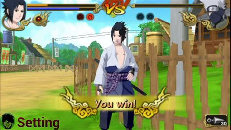 Tutorial/setting Ppsspp Di Android Main Game Naruto Legend