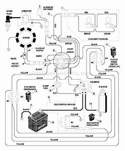 Wiring Diagram Murray Ride On Mower Model 80 76