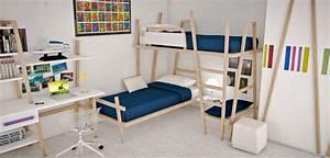Barriere Lit Superposé : choisir un lit superpos la s curit avant tout ~ Premium-room.com Idées de Décoration