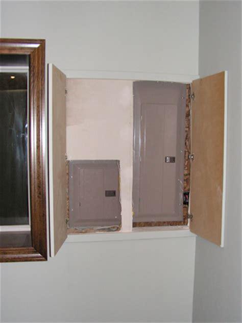 Panel Behind Door Wall Electrical Diy Chatroom Home
