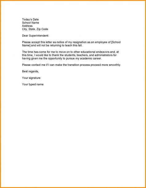 employee resignation letter resign ha format