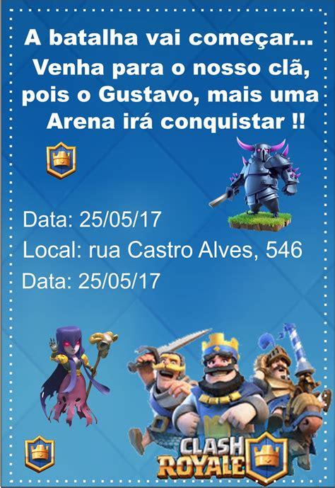gustavo Festa clash royale Aniversário clash royale Clash
