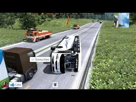 amaravathi bus  accident  rash driving  accident ets pop gaming youtube