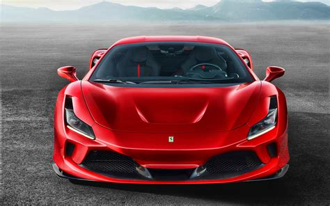 Ferrari's team provides complete assistance and exclusive services for its clients. Download wallpapers 4k, Ferrari F8 Tribute, front view, 2019 cars, supercars, desert, 2019 ...