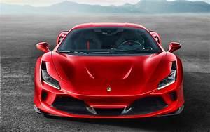 Download Wallpapers 4k  Ferrari F8 Tribute  Front View