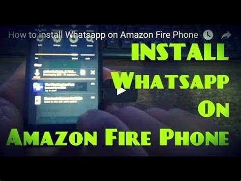 how to install whatsapp on phone