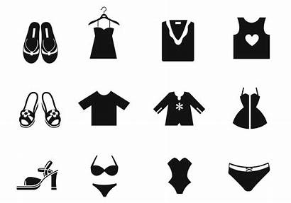 Icons Kleidung Ropa Iconos Clothes Brush Vecteezy