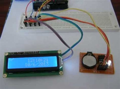 Rtc Lcda Using With Arduino Youtube