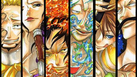 whitebeard pirates thatch izo ace marco haruta vista
