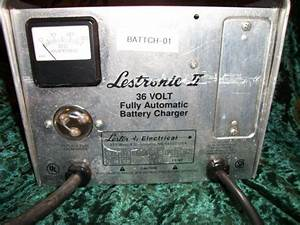Find Lestronic 2 Ii Fully Automatic 36 Volt Battery