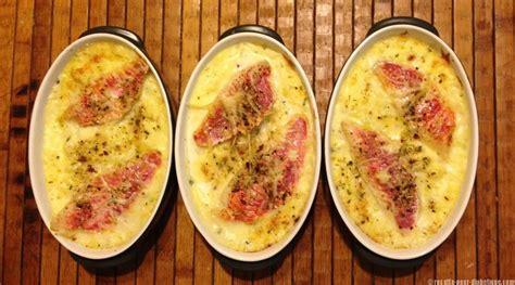 recette de cuisine regime parmentier au rouget