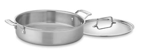 cuisinart mcp  multiclad pro stainless  quart stockpot  cover repeeron