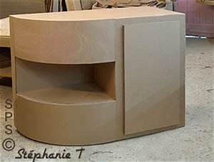 Meuble En Carton Design : meuble d 39 angle ou meuble de coin construit en carton ~ Melissatoandfro.com Idées de Décoration