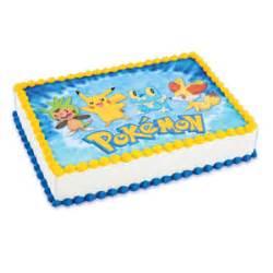 pokemon edible cake decorating image