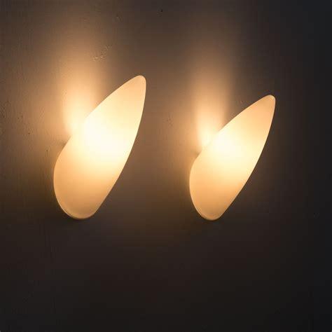 set   vintage wall lights  philippe starck  flos