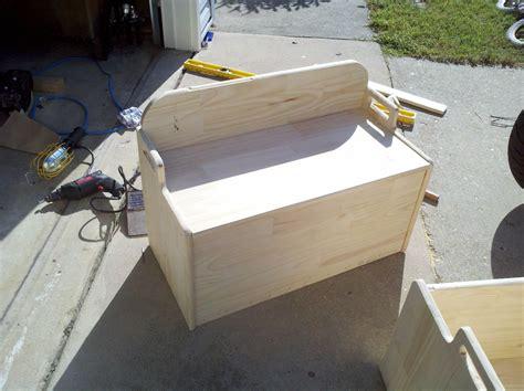 woodworking plans plans  build  toy box