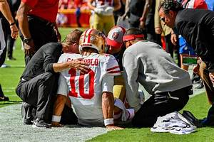 Jimmy Garoppolo Injury 49ers Lose Starting Qb For The