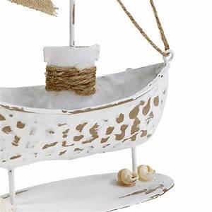 Deko In Weiß : deko boot stehend wei h22cm kaufen in schweiz ~ Yasmunasinghe.com Haus und Dekorationen