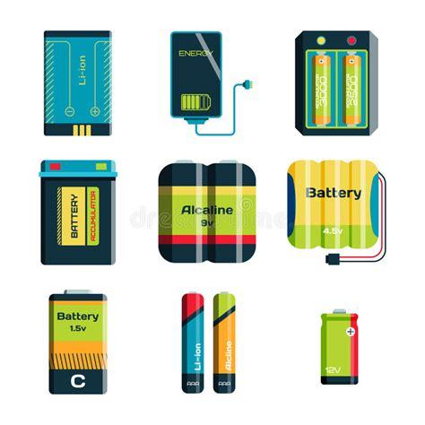 Objetos De La Potencia De La Energía Y De La Electricidad