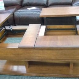 interesting double lift coffee table doesnt sit flush