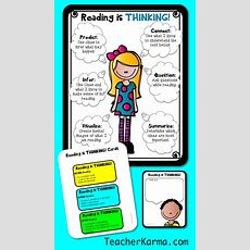 25+ Best Ideas About Reading Is Thinking On Pinterest  Reading Comprehension Strategies